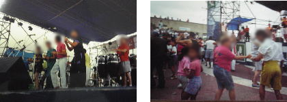 サルサバンドと観衆