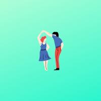 ダンス練習相手